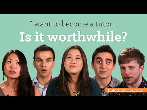 I want to become a tutor: is it worthwhile?