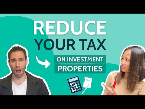 How to reduce tax on investment properties (australia)