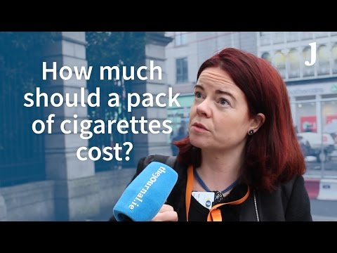 How much should a pack of cigarettes cost?