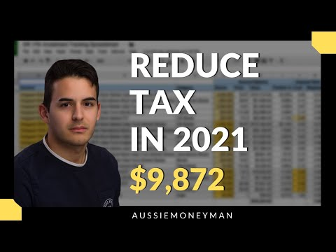 How to pay less tax in 2021 - australia