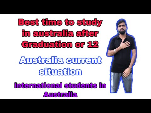 Australia current situation || best time to study in australia after graduation or 12 || explorer s