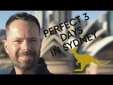 What to do in sydney, australia for 3 days
