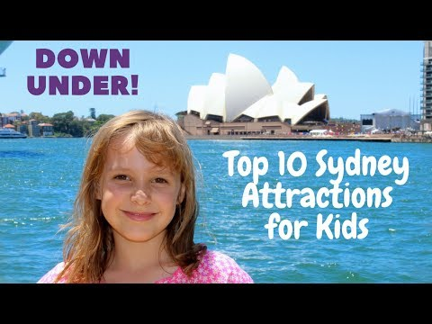 Sydney, australia from a kid's point of view