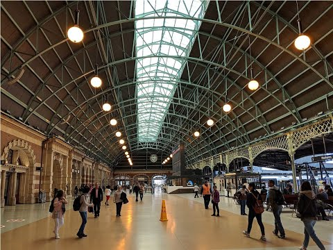 The history of sydney central railway station